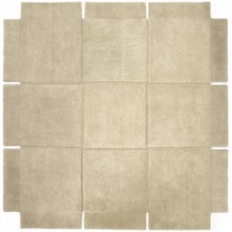 180x180cm - beige - tapis...