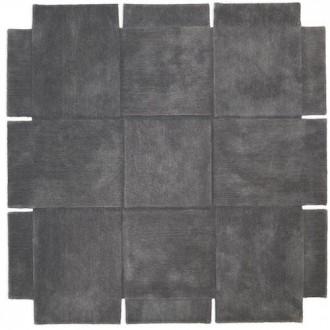180x180cm - gris - tapis...
