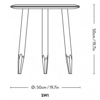 Ø50cm -  SW1 Hoof table