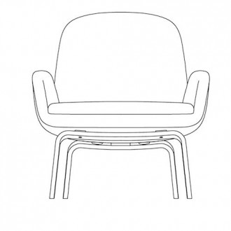 Era lounge chair - low back...