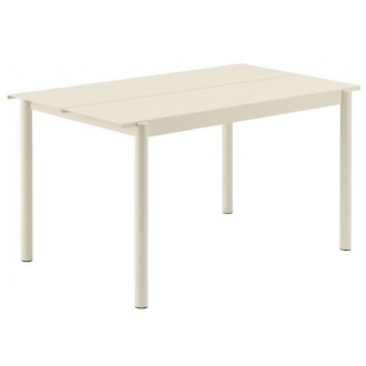 140cm blanc - table Linear