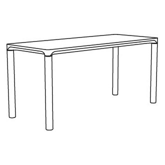 Piloti 6710 coffee table