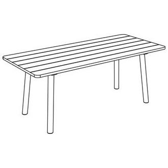 Taro 6100 - table