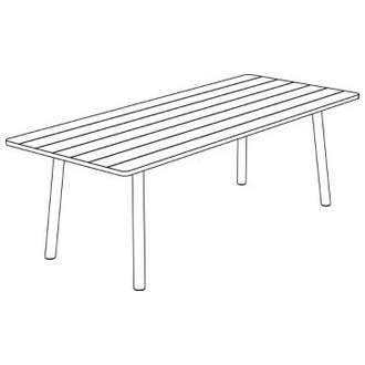 Taro 6105 - table