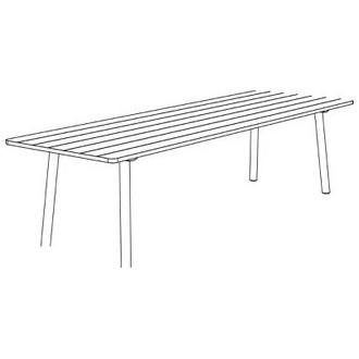 Taro 6110 - table