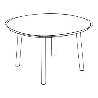 Taro 6120 - table