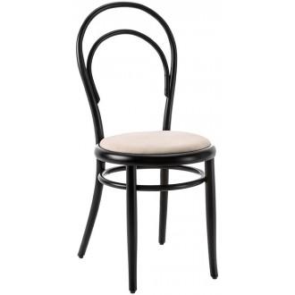black beech + upholstered...