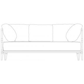 W180cm sofa - Promenade