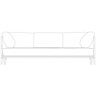 W230cm sofa - Promenade