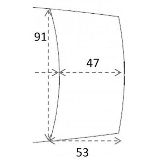53x91cm - rallonge pour C28...