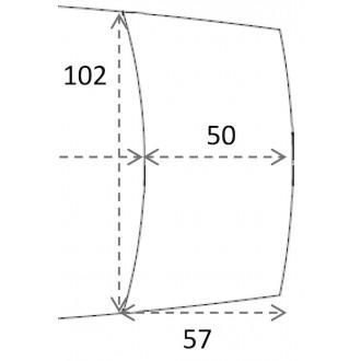 57x102cm - rallonge pour...
