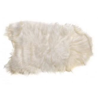 white, longhair - lambskin...