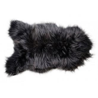 black, longhair - lambskin...