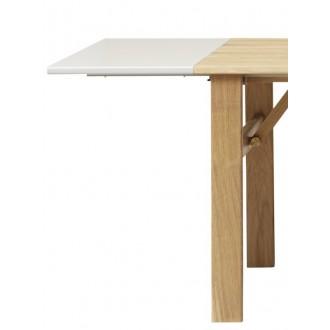 2xrallonges MDF - table Damsbo