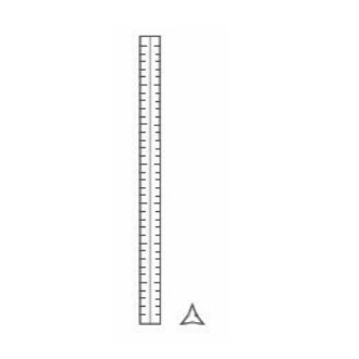 20cm allu ruler - architect...