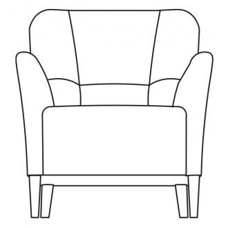 Nova armchair