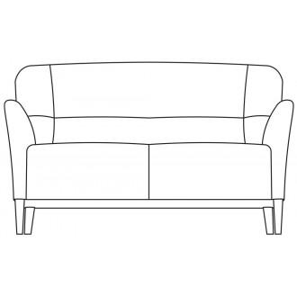 2-seater Nova sofa