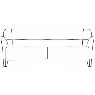 3-seater Nova sofa