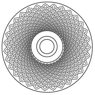 Earth Mandala - applique /...