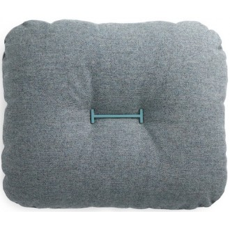 flax - turquoise - Hi cushion