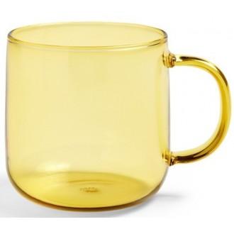 mug jaune Borosilicate