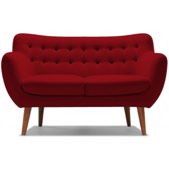 2 seater - red - wool...