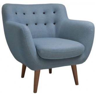 fauteuil - bleu glacier -...