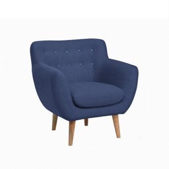fauteuil - indigo - coton -...