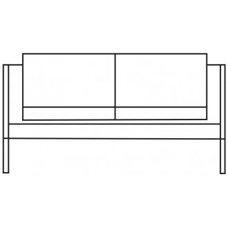 W148cm - 2-seater - 2332 sofa