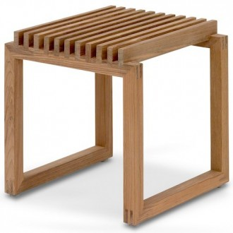 teak - Cutter stool