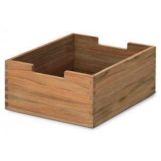 teak - Cutter box, low