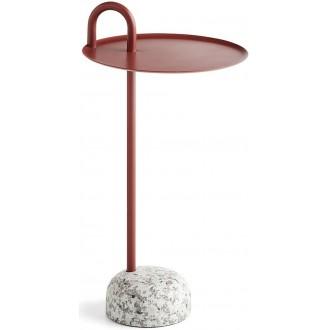 rouge brique - table Bowler