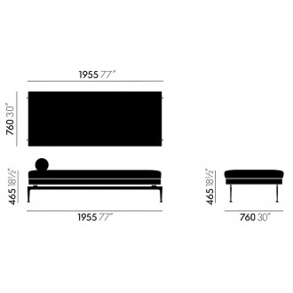daybed Suita