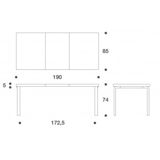 97 extendable table