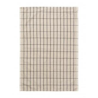 sand/black - Hale tea towel
