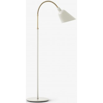 white / brass - Bellevue...