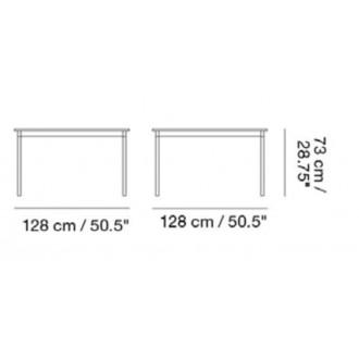 128 x 128 cm - Base table