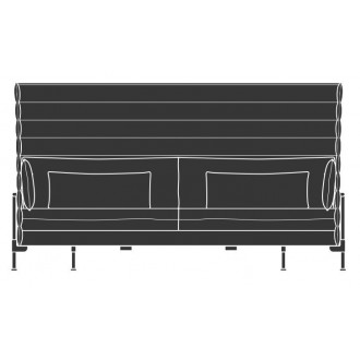 3-Seater - Alcove Highback...
