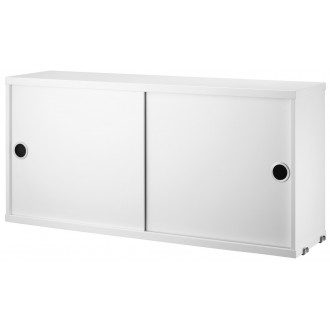 cabinet D20cm sliding doors...