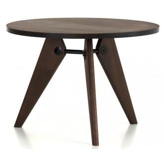 Ø90cm - chêne fumé - table...