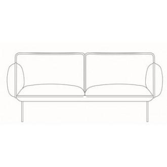 2-seater sofa Nakki