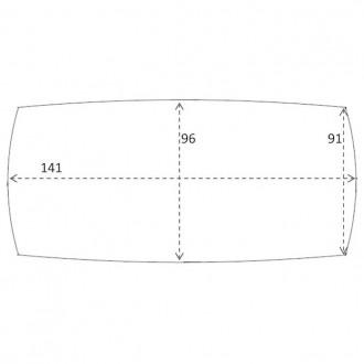 141 x 96 cm - table C28