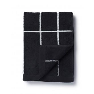 serviette 50x100cm - noir,...