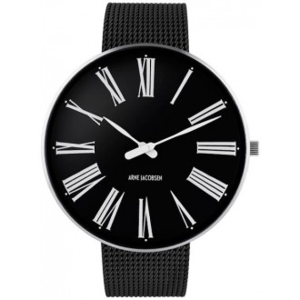 40mm - black / steel dial +...