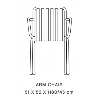 arm chair - Palissade