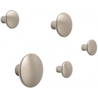 taupe - 5 x The Dots metal