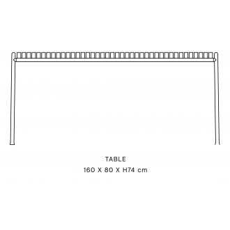 dining table - L170 x H75...