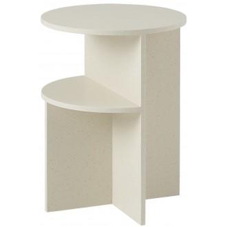 table d'appoint Halves - sable