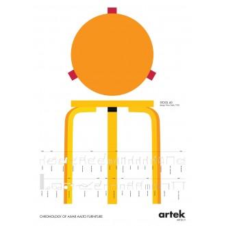 50x70cm - Poster Stool 60