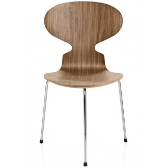 noyer - 3 pieds - chaise Ant